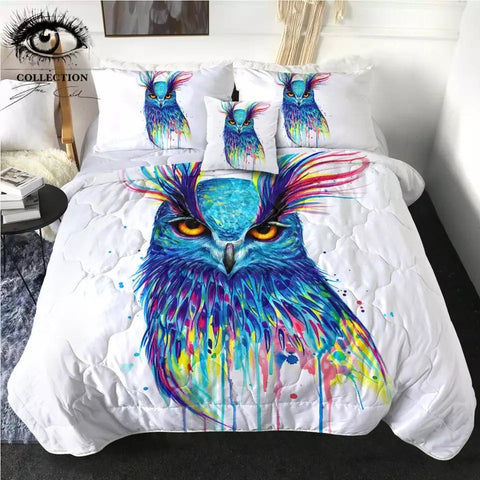 Into The Blue By Pixie Cold Art Comforter Set