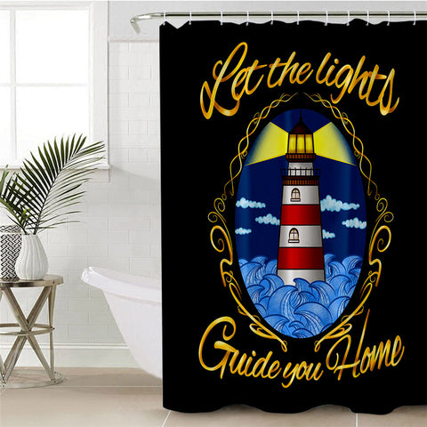Lighthouse By Taemin Ankh Shower Curtain