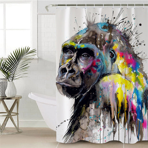 I See The Future By Pixie Cold Art Shower Curtain
