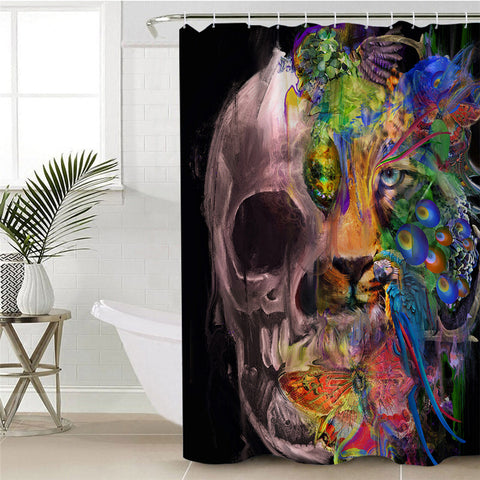 Introspection by Archan Nair Shower Curtain