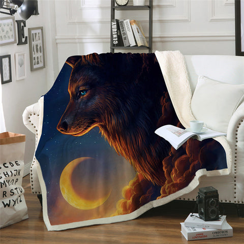 Night Guardian By JoJoeArt Throw Rug