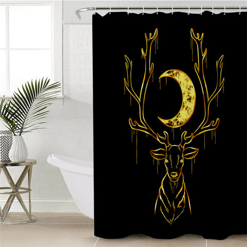 Deer By Taemin Ankh Shower Curtain