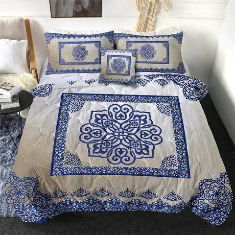 Royal Hippie by Ismot Esha Comforter Set