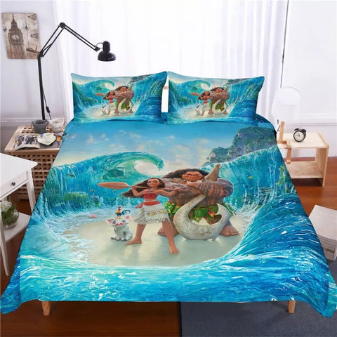 Moana Parting The Sea Bedding Set