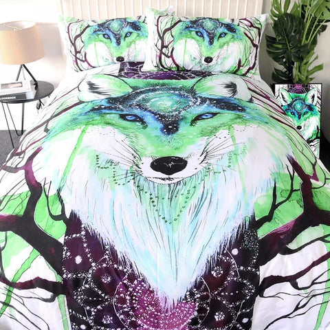 Fox Galaxy By Scandy Girl Bedding Set