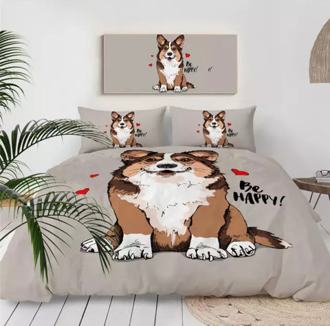Be Happy! Bedding Set