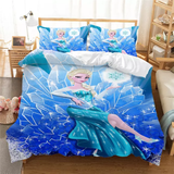 Elsa the Ice Queen Bedding Set