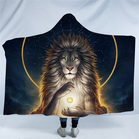Soul Keeper By JoJoesArt Hooded Blanket
