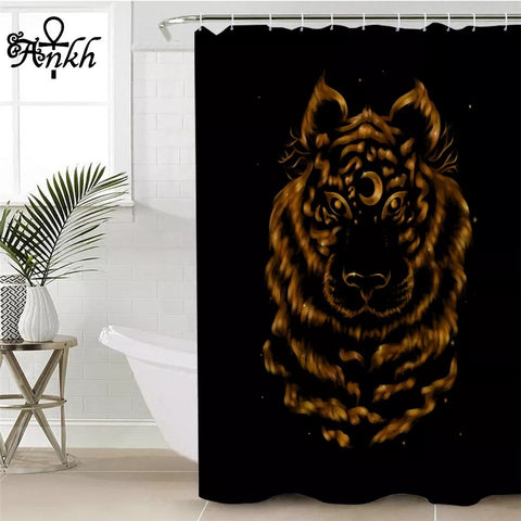 Tiger By Taemin Ankh Shower Curtain