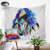 Pferd By Pixie Cold Art Wall Tapestry