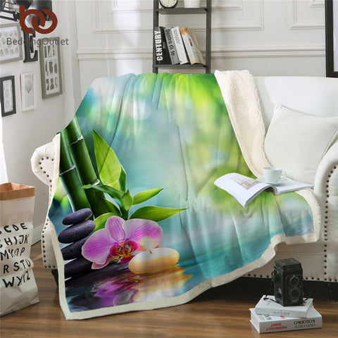 Tranquil Place Throw Rug