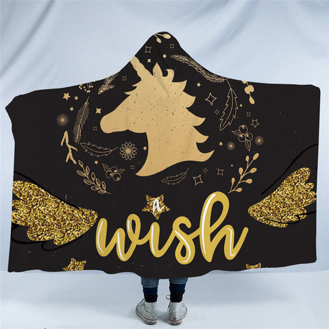 Make A Wish Hooded Blanket