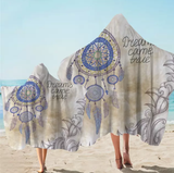 Dreams Came True Dreamcatcher Hooded Towel