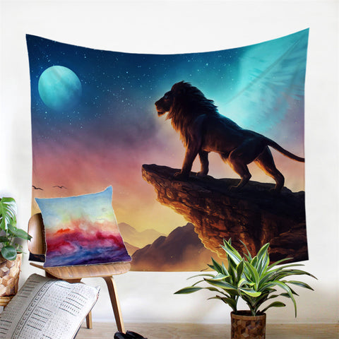 Free Like a Bird by JoJoesArt Wall Tapestry