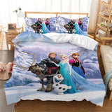 Frozen's Family Photo Bedding Set