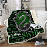 Slytherin Traits Throw Rug