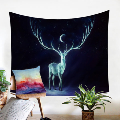 Nightbringer by JoJoesArt Wall Tapestry