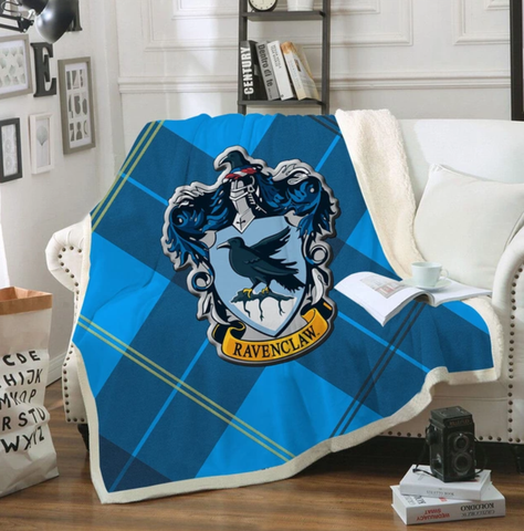 Ravenclaw Tartan Throw Rug