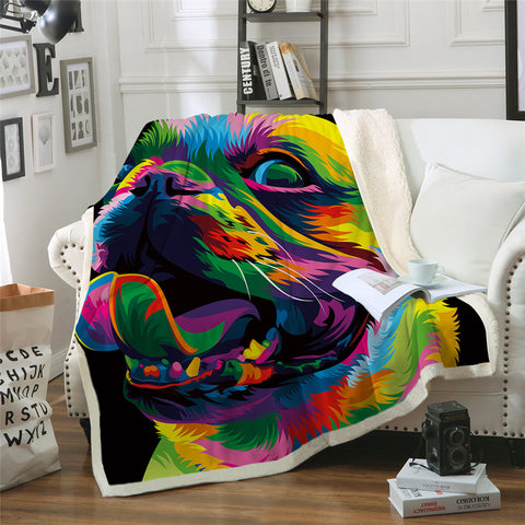 Loyal Bulldog By Weer Throw Rug