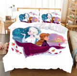 Two worlds of Frozen Bedding Set
