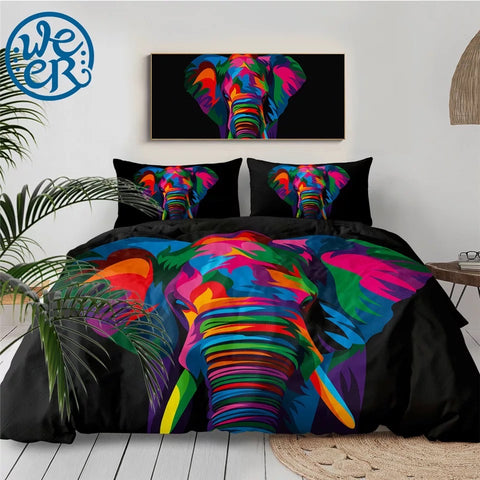 Spiritual Elephant By Weer Bedding Set