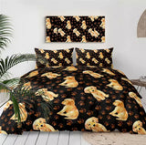 Golden Labrador Puppies Bedding Set