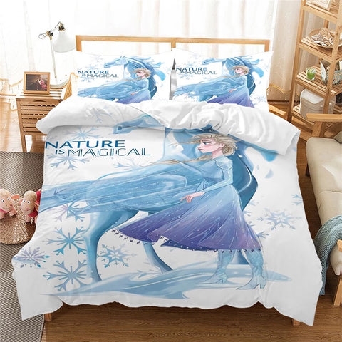 Frozen's Nature is Magical Bedding Set