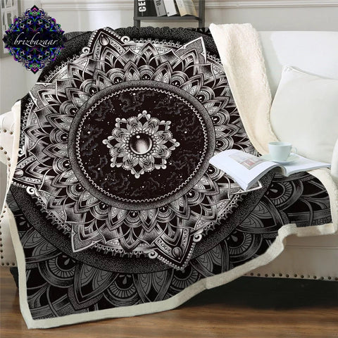 Mandala By Brizbazaar Throw Rug