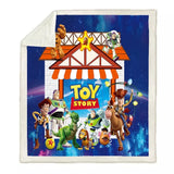 The Toy Story Box Throw Rug
