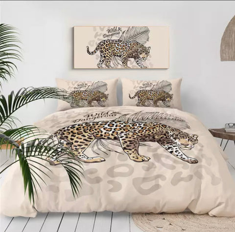 Wild & Dangerous Cheetah Bedding Set