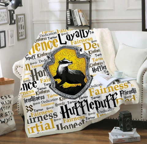 Hufflepuff Traits Throw Rug