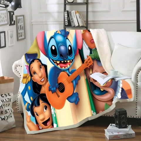 Lilo & Stitch Characters Throw Rug