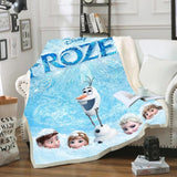 Frozen Heads Throw Rug