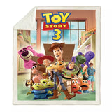 Toy Story 3 Characters Throw Rug