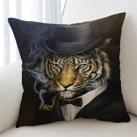 Tiger By JP.Pemapsorn Cushion Cover