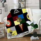 Harry Potter Symbols (3 Styles) Throw Rug