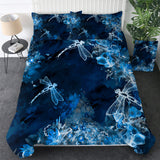 Dragonflies At Night Bedding Set