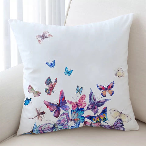 Colourful Butterflies Cushion Cover