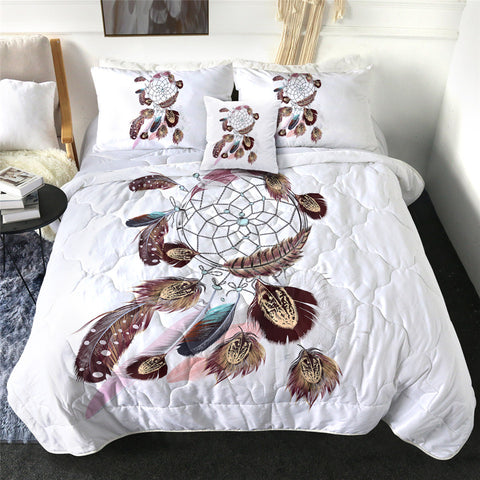 Feathery Dreamcatcher Comforter Set