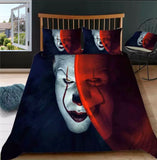 In The Shadows Clown IT Bedding Set