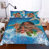 Moana and Maui ready for Adventures Bedding Set