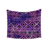 Purple Inca Pattened Wall Tapestry