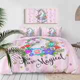 You Are Magical Unicorn Bedding Set