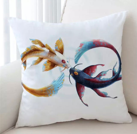 Eternal Bond By JoJoeArt Cushion Cover