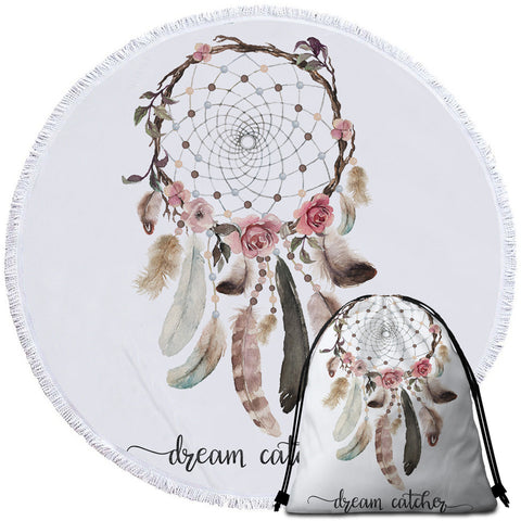 ~Dream Catcher~ Round Towel