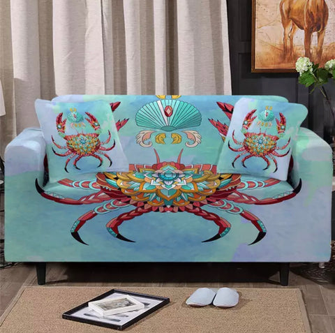 Bohemian Crab Sofa Cover