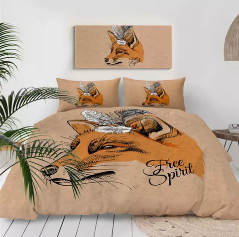 Free Spirit Fox Bedding Set