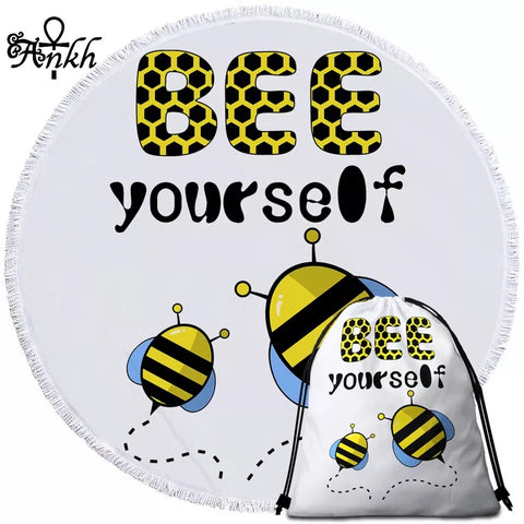 Bee Yourself By Taemin Ankh Round Towel