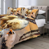 White Buffalo By Ismot Esha Bedding Set
