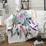 Large Dreamcatcher Throw Rug